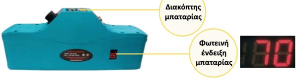 ΗΛΕΚΤΡΙΚΟ ΨΑΛΙΔΙ ΚΛΑΔΕΜΑΤΟΣ SC-3603 45MM / 1,8''